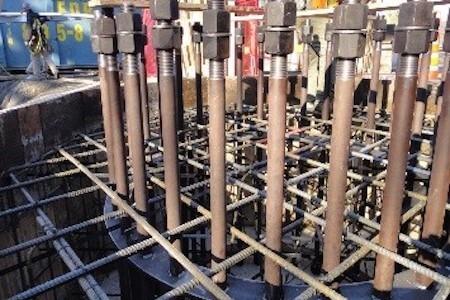 Travaux de construction, usine ArcelorMittal Canada, Longueuil, Québec