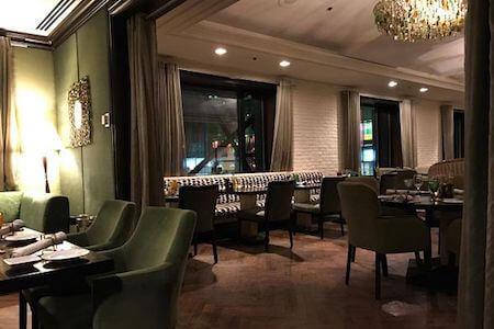 Vue intérieure du Restaurant Osco, InterContinental Montréal