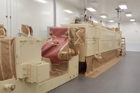 Équipements pour installation dans une usine pharmaceutique
