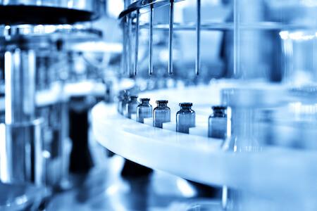 Équipement de remplissage de bouteilles de comprimés, industrie pharmaceutique