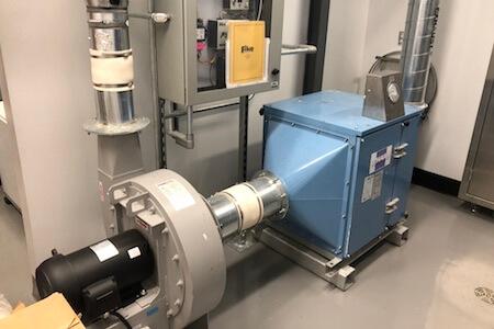 Installations mécaniques, industrie pharmaceutique
